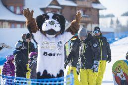 Maskot Berny Lyžiarska škola Strachan Ski Centrum